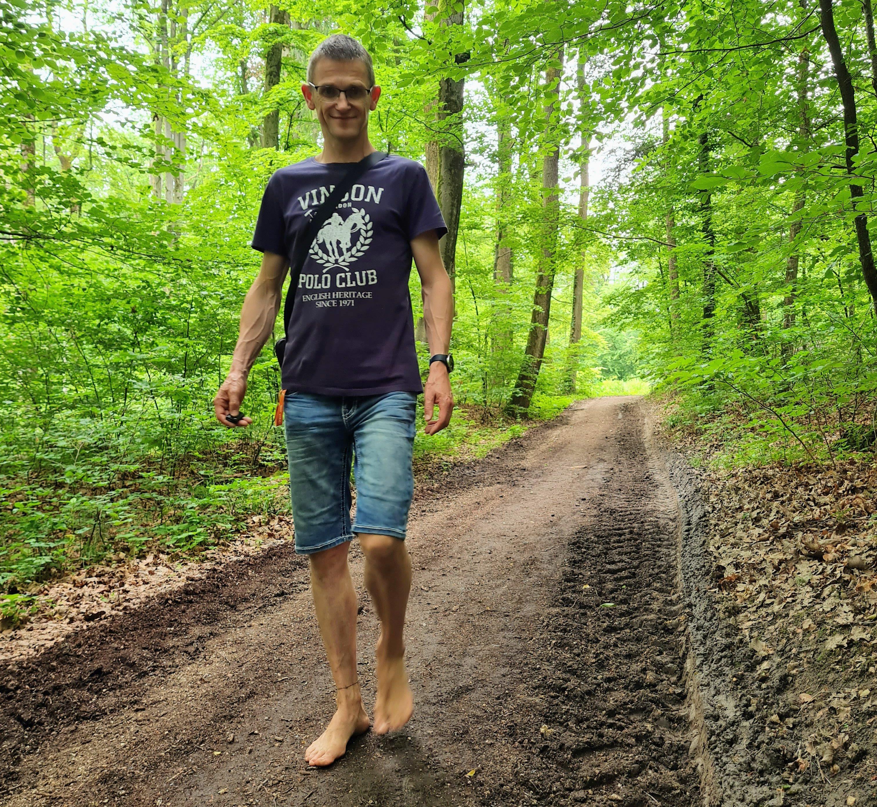 Barfuß wandern mit Jürgen in Baden-Württemberg